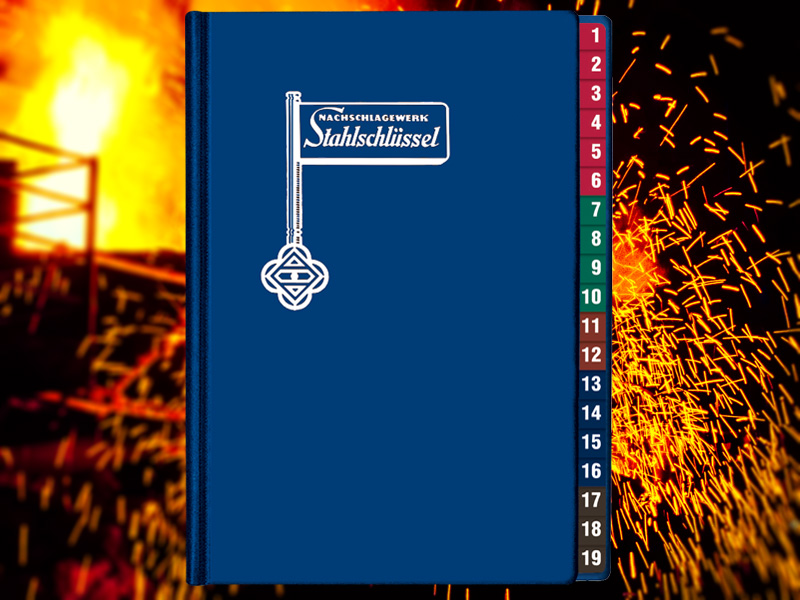 Key To Steel - Stahlschluessel Cross reference manual 25. Edition 2019
