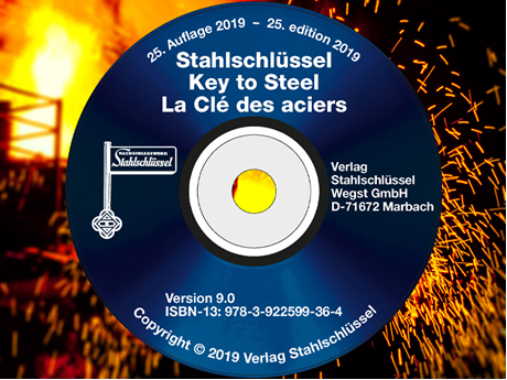Key to Steel - Stahlschluessel CD-ROM Version 9.0 (25. Edition 2019)