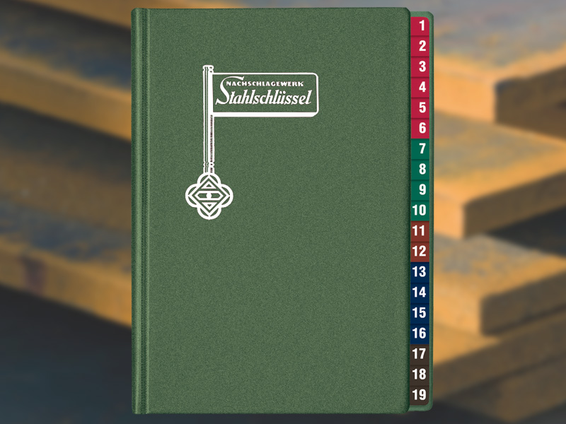 Key To Steel - Stahlschluessel Cross reference manual 24. Edition 2016