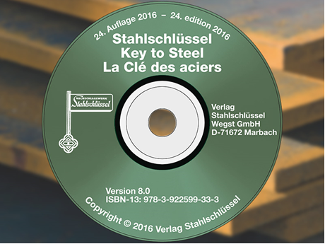Key to Steel - Stahlschluessel CD-ROM Version 8.0 (24. Edition 2016)